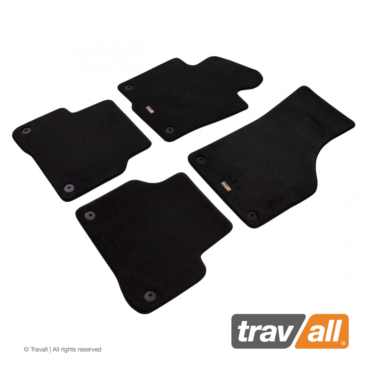 Travall® MATS [LHD] for Volkswagen Passat Saloon / Estate / CC (2010 - 2016)
