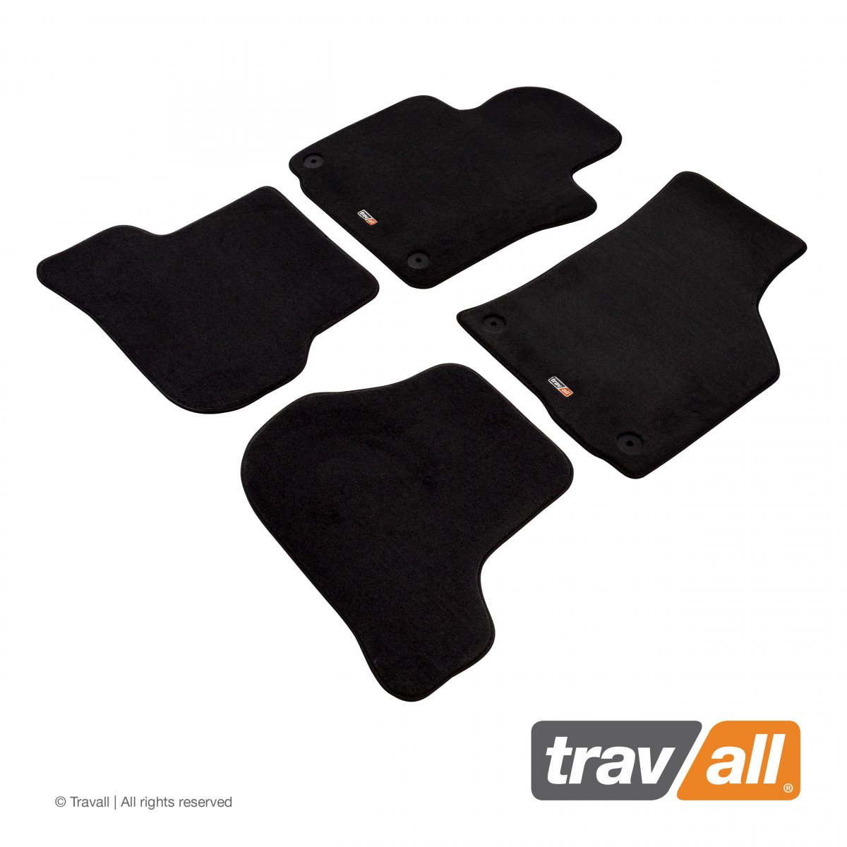 Travall® MATS [LHD] for Volkswagen Scirocco (2008 - 2018)